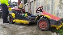 Berita di Jabar Hari Ini: Mobil F1 KW Ditilang Polisi-Pembunuhan Pedagang Kopi