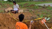 Polisi Gelar Rekonstruksi Kasus Pelajar Tewas Dilempar Adukan Semen