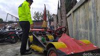 Dua Alasan Polantas Garut Tilang Mobil Formula 1