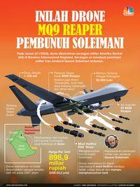Begini Canggihnya Drone Trump Pembunuh Jenderal Iran Soleiman
