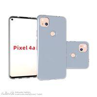 Pixel 4a tampak belakang.