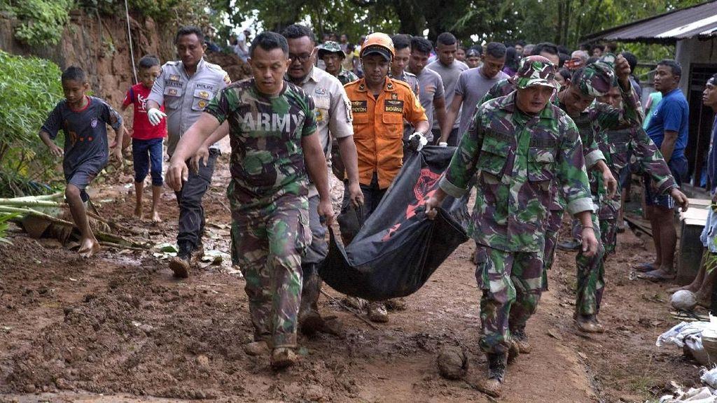 Tiga Orang Tewas Akibat Banjir dan Tanah Longsor di Sangihe