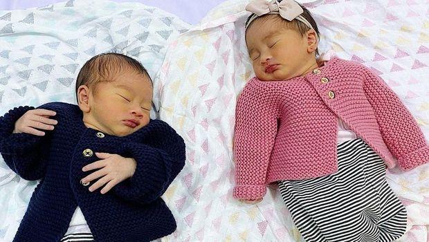 Ini Doa Syahnaz dan Jeje 'Govinda' untuk Anak Kembarnya