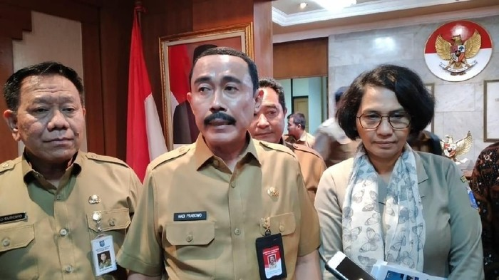 Sekjen Kemendagri Hadi Prabowo (Rolando-detikcom)