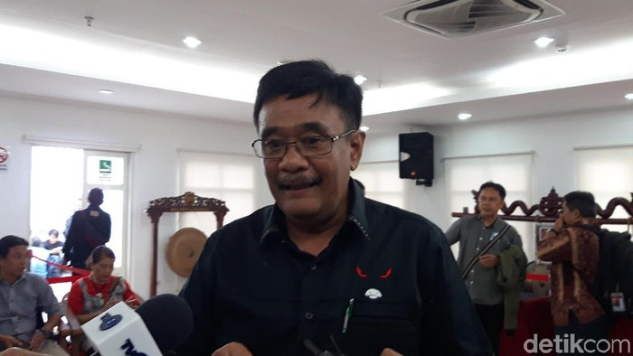 Eks Gubernur DKI Jakarta Djarot Saiful Hidayat (Rahel Narda/detikcom)