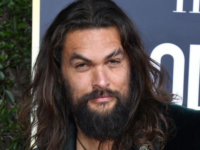 BEVERLY HILLS, CALIFORNIA - JANUARY 05: Jason Momoa attends the 77th Annual Golden Globe Awards at The Beverly Hilton Hotel on January 05, 2020 in Beverly Hills, California. (Photo by Jon Kopaloff/Getty Images)
