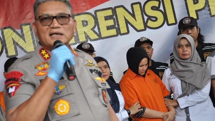 Zuraida hanum, istri yang juga pembunuh hakim Jamaluddin. (Foto: ANTARA FOTO/Septianda Perdana)
