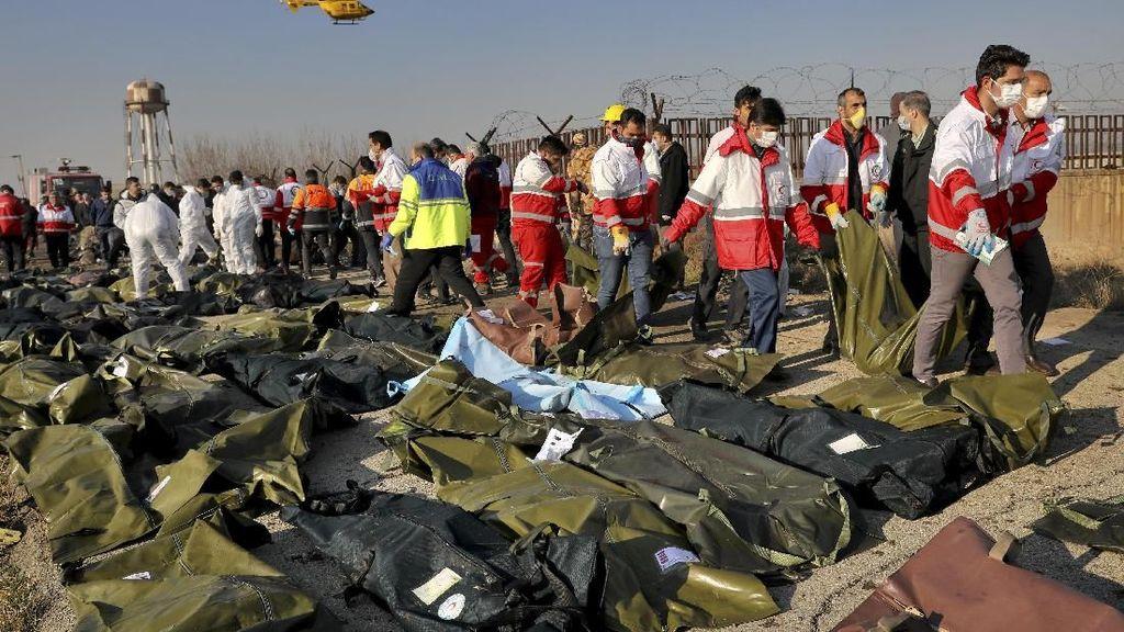 Pesawat Maskapai Ukraina yang Jatuh di Iran Putar Balik Usai Bermasalah
