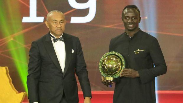Sadio Mane menjadi pujaan publik Senegal.