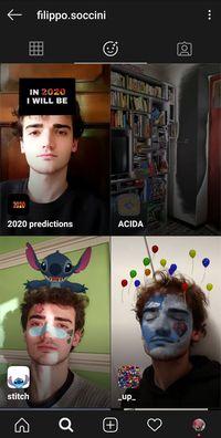 Cara Meramal Nasib Pakai Filter Instagram '2020 Predictions'