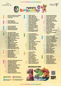 Lampaui Rekor Lama, Banyuwangi Hadirkan 123 Event Wisata