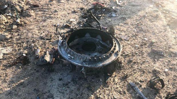 Pesawat Ukraina Jatuh di Iran /