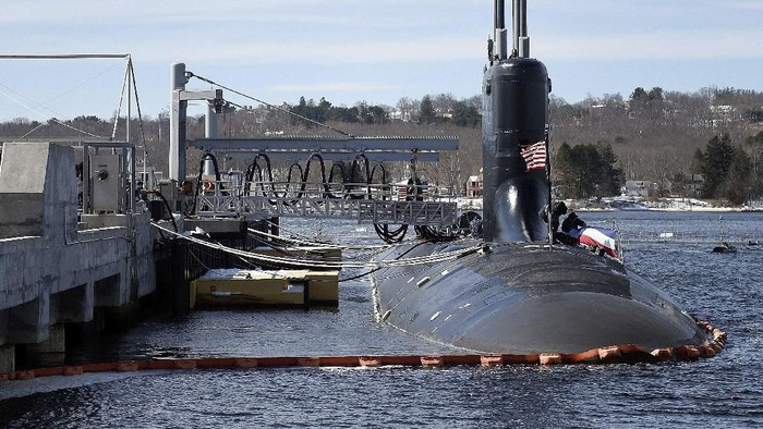 Ilustrasi kapal selam milik Amerika Serikat (AP)