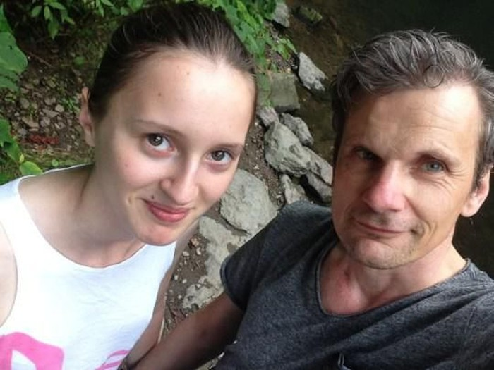 Michael dan Sarah. Foto: dok. Michael Hoch