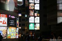 Plang restoran Halal di Shinjuku (Syanti/detikcom)
