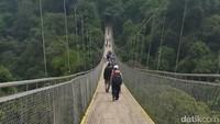Jembatan Gantung Terpanjang di ASEAN Tutup Setelah Lebaran
