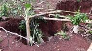 Usai Lubang Misterius, Rekahan Tanah 16 Meter Muncul di Gunungkidul