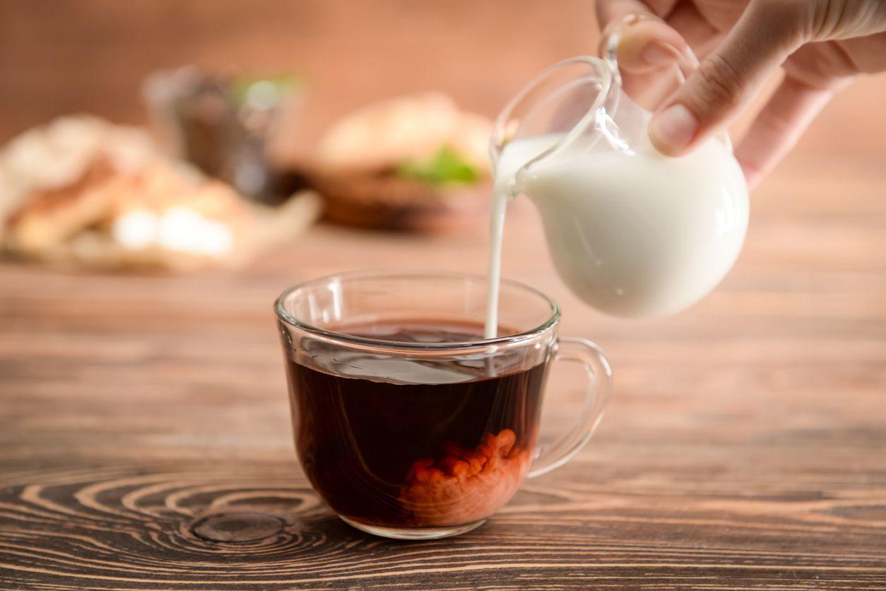 teh dicampur susu