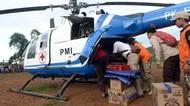 Pakai Hagglunds & Helikopter, PMI Kirim Bantuan hingga ke Pelosok Lebak