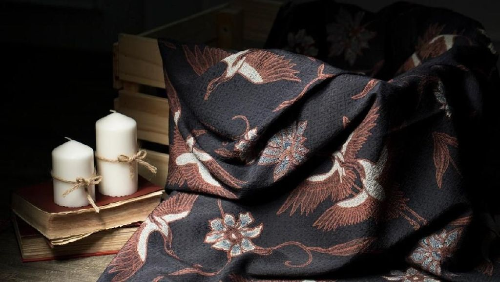 Filosofi Batik Motif Bangau: The Signature of Batik Obate