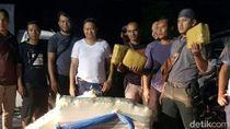 Polisi Tangkap 2 Penyelundup 250 Kg Ganja di Sumut
