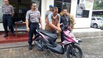 Ngeles, Pria Semarang Ini Ngaku Ngeprank Curi Motor Saat Ditangkap
