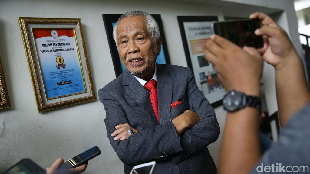 PN Jakpus Tolak Gugatan OC Kaligis Soal Pengangkatan BW di TGUPP