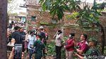Rizky Febian Hadir di Pembongkaran Makam Lina