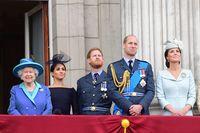 Meghan Markle dan keluarga Kerajaan Inggris.