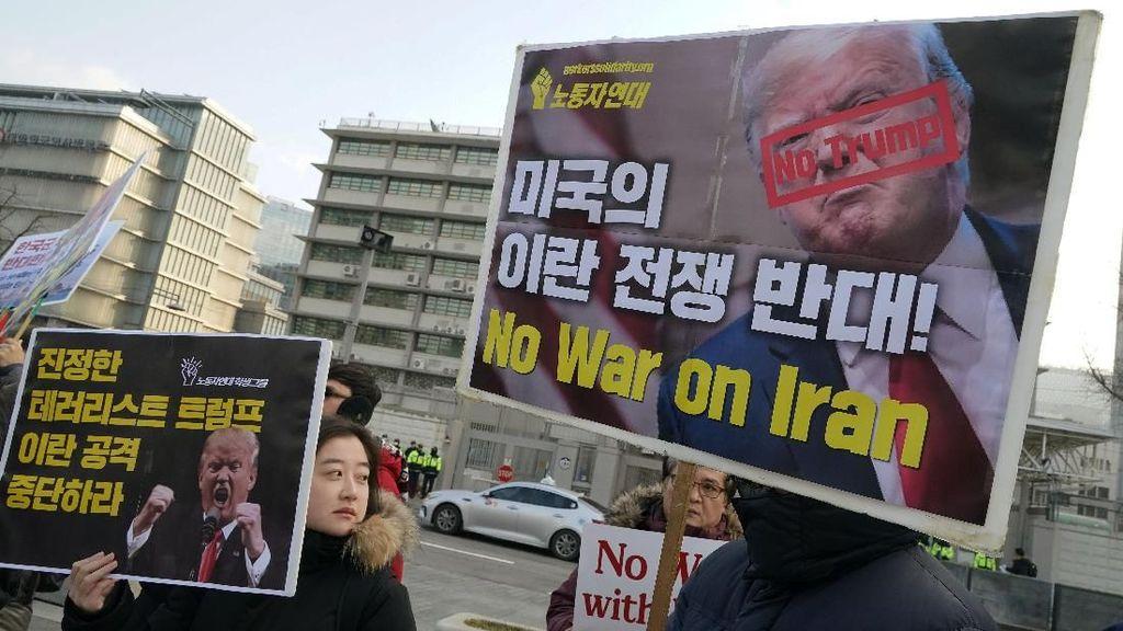 Doa untuk Perdamaian agar Tak Terjadi Perang Dunia Saat Iran Vs USA Bersitegang