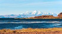 Foto: Danau Tertinggi Dunia yang Kalahkan Gunung Rinjani