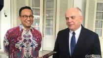 Bertemu Anies, Dubes AS Jelaskan Imbauan soal Prediksi Cuaca Ekstrem Jakarta