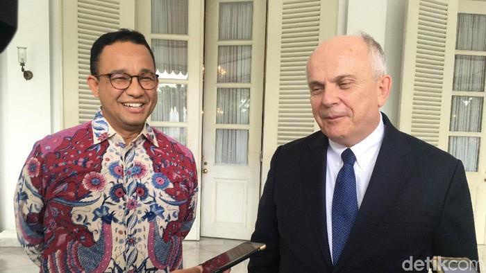 Bertemu Anies Dubes As Jelaskan Imbauan Soal Prediksi Cuaca Ekstrem Jakarta