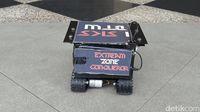 Robot Mobil Ini Cari Korban Bencana Pakai Pemindai Suhu Badan