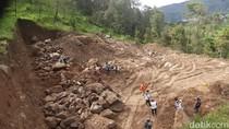 Polisi Gelar Olah TKP Perusakan Hutan di Lereng Lawu Karanganyar