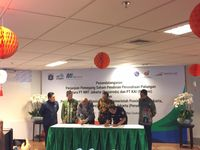 Pagi ini PT Kereta Api Indonesia (KAI) (Persero) dan PT MRT Jakarta (Perseroda) menandatangani perjanjian kerja sama pendirian perusahaan patungan.