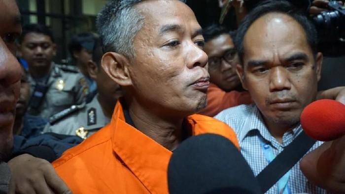 Foto: Komisioner KPU Wahyu Setiawan ditahan KPK (Ibnu Hariyanto-detikcom)