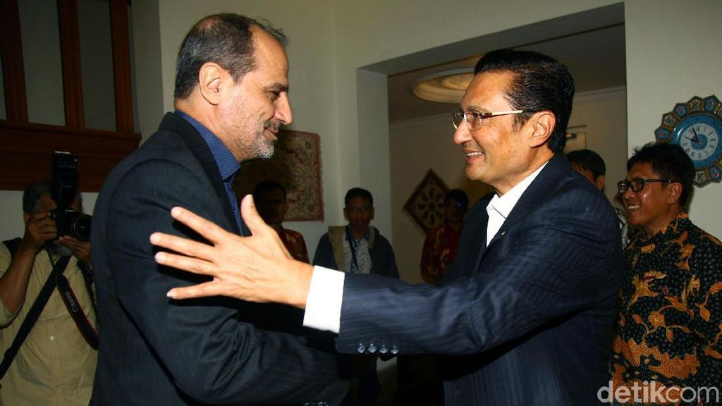Wakil Ketua MPR Fadel Muhammad Temui Dubes Iran