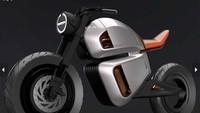 Yakni bakal menggunakan Hubless Rear Wheel, sasis karbon yang ringan, serta baterai lithium ion 9kWh yang dikawinkan dengan ultracapacitors. Dan sistem hybrid terbaru, yang ada pada sepeda motor. Karena sistem yang bakal ditawarkan bakal diklaim berbeda dengan motor listrik yang sudah diperkenalkan, seperti Zero dan Harley-Davidson. Foto: Pool (MCN)