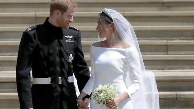 Pangeran Harry dan Meghan Markle /