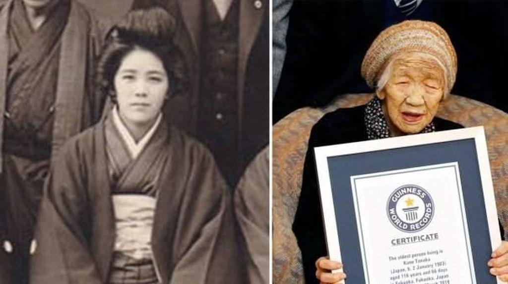 Makan Enak Jadi Rahasia Panjang Umur Kane Tanaka, Orang Tertua di Dunia