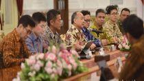 Bos Softbank dan Bos Grab Temui Jokowi Bahas Ibu Kota Baru