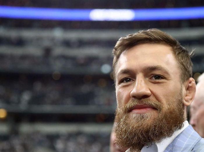 McGregor dikenal suka asal bicara terhadap lawan-lawannya. Foto: Ronald Martinez/Getty Images
