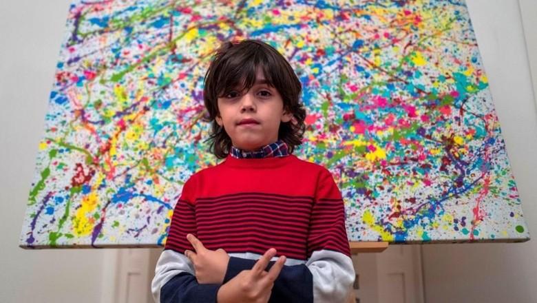 Foto: Istimewa Bocah 7 Tahun dari Jerman Disebut Sebagai Picasso