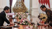 Bertemu Menlu Jepang, Jokowi Ajak Investasi di Natuna