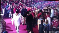 Menhan Prabowo hingga Wiranto Hadiri Pembukaan Rakernas I PDIP