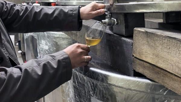 Hanya anggur aszo terbaik yang digunakan untuk Essencia. Pengunjung dapat melakukan tur ke kilang anggur, yang terletak sekitar dua setengah jam perjalanan dari Budapest dan tentu mencicipinya (Foto: Royal Tokaji Wine Company/CNN)