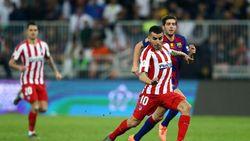 Kandaskan Barcelona 3-2, Atletico Melaju ke Final Piala Super Spanyol