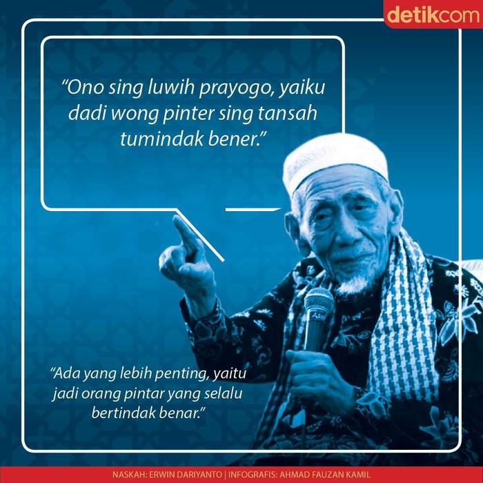 Infografis Nasihat cinta Mbah Moen
