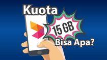 Hal-hal yang Bisa Kamu Lakukan dengan Kuota 15 GB